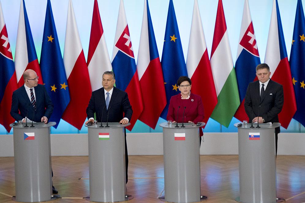 Visegrád-Gruppe und V4 intensivieren europaweite Arbeit