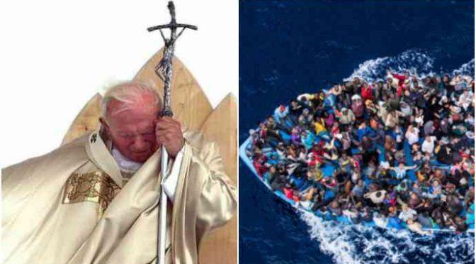 """Przepowiednia Papieża: """"Horda islamu napadnie Europę z Libii"""""""