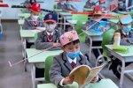 Wie chinesische Schulkinder zur sozialen Distanzierung erzogen werden