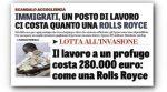 Italien: einen Job für einen Einwanderer zu finden, kostet soviel wie ein Rolls Royce
