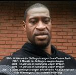 """Huldigung eines Schwerverbrechers: Berlin bekommt einen """"George-Floyd-Sportplatz"""""""