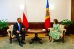 Polens Präsident Duda möchte Beitritt der Republik Moldawien zur Drei-Meere-Initiative