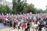Paris protestiert gegen die Covid-Diktatur: Fotoreportage