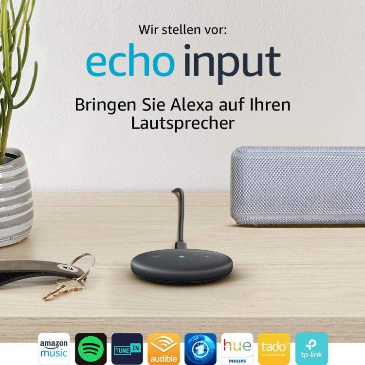 Echo Input für nur €24,99!