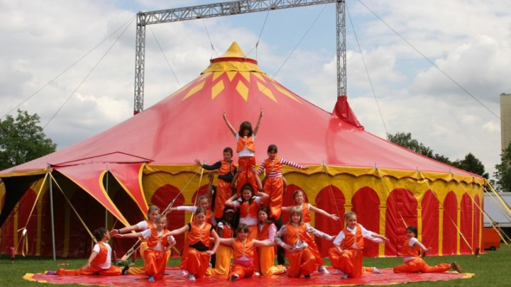 Zirkusprojekt Grundschule Becke