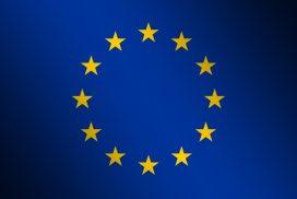 Flagge der Europaeschen Union