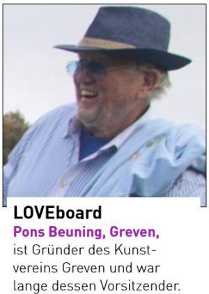 Pons Beuning, Greven