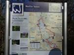 Foto Informationstafel über die Nette Seen