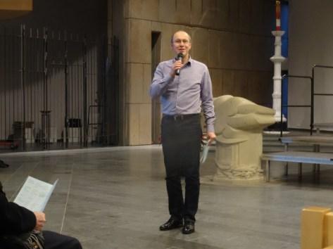 Foto von dem Moderator Lothar Grünebaum