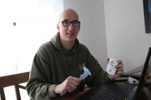 "Carsten Severens initiiert das ""Café Wackelkontakt"""