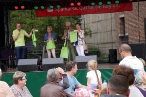 Foto: Auf der Bühne - Bürgerfest 2018