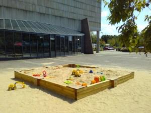 Foto Sandkasten am Cocnridienplatz