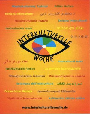 Foto vom Logo und der Beschreibung der Interkulturellen Woche