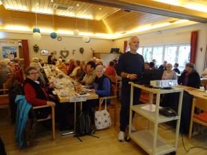 Foto von der Präsentation der Reisen im Willy-Hartmann-Saal