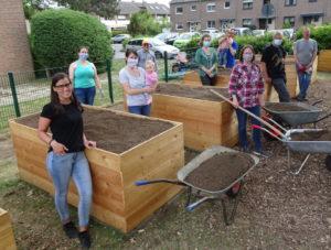 Gruppenfoto der Gartenfreunde