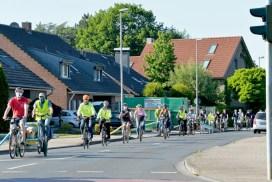 Gruppenfoto Fahrradfahrer