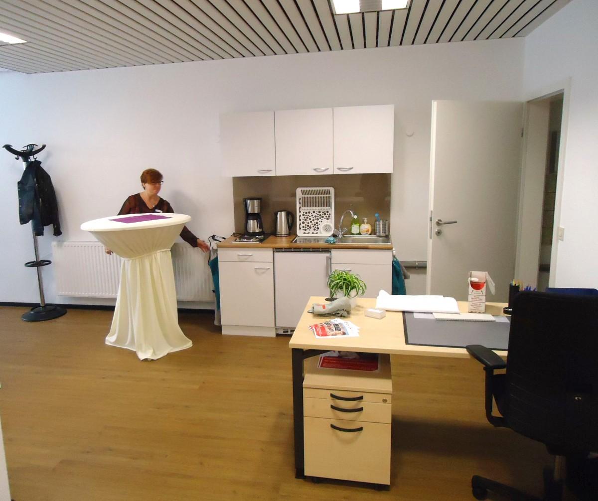 """Bild: Die Küche für den """"Notfall"""""""