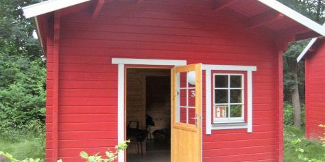 Das Hütten-Camp - Hütte 3