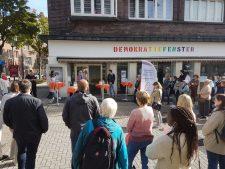 Eröffnung des Demokratiefensters