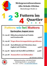 Futtern wie bei Muttern August 2019
