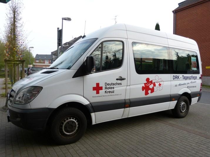Transport für Gäste der Tagespflege