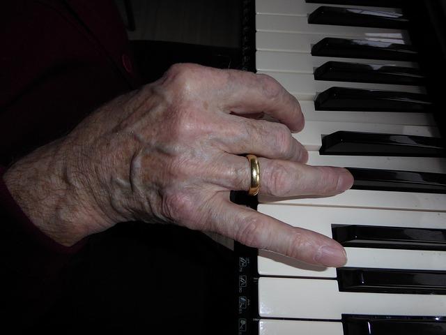 Melodien am Klavier