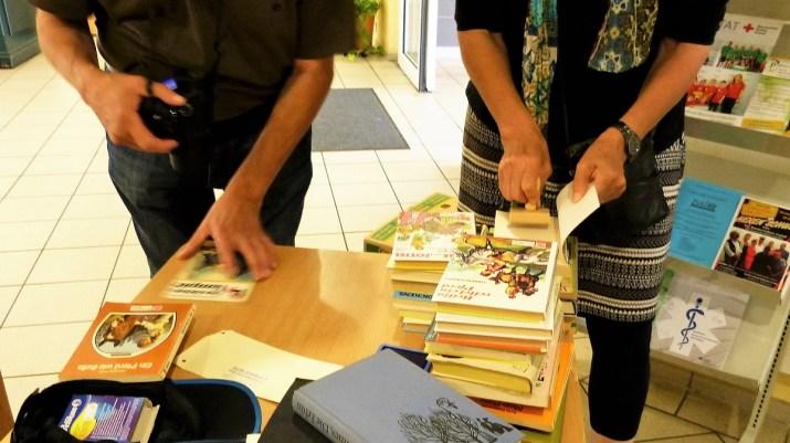 Bücher registrieren