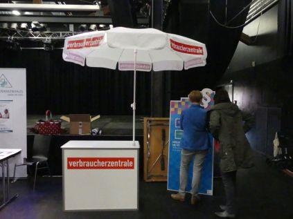 Stand der Verbraucherberatung NRW in Moers