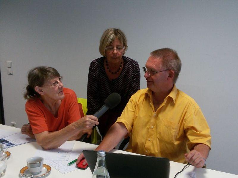 Bürgerfunk Moers besucht die Redaktion Senioren-in-Moers