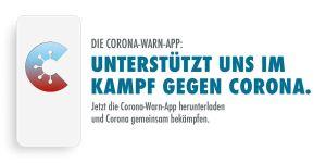 Logo offizielle Corona Warn APP Kampagne