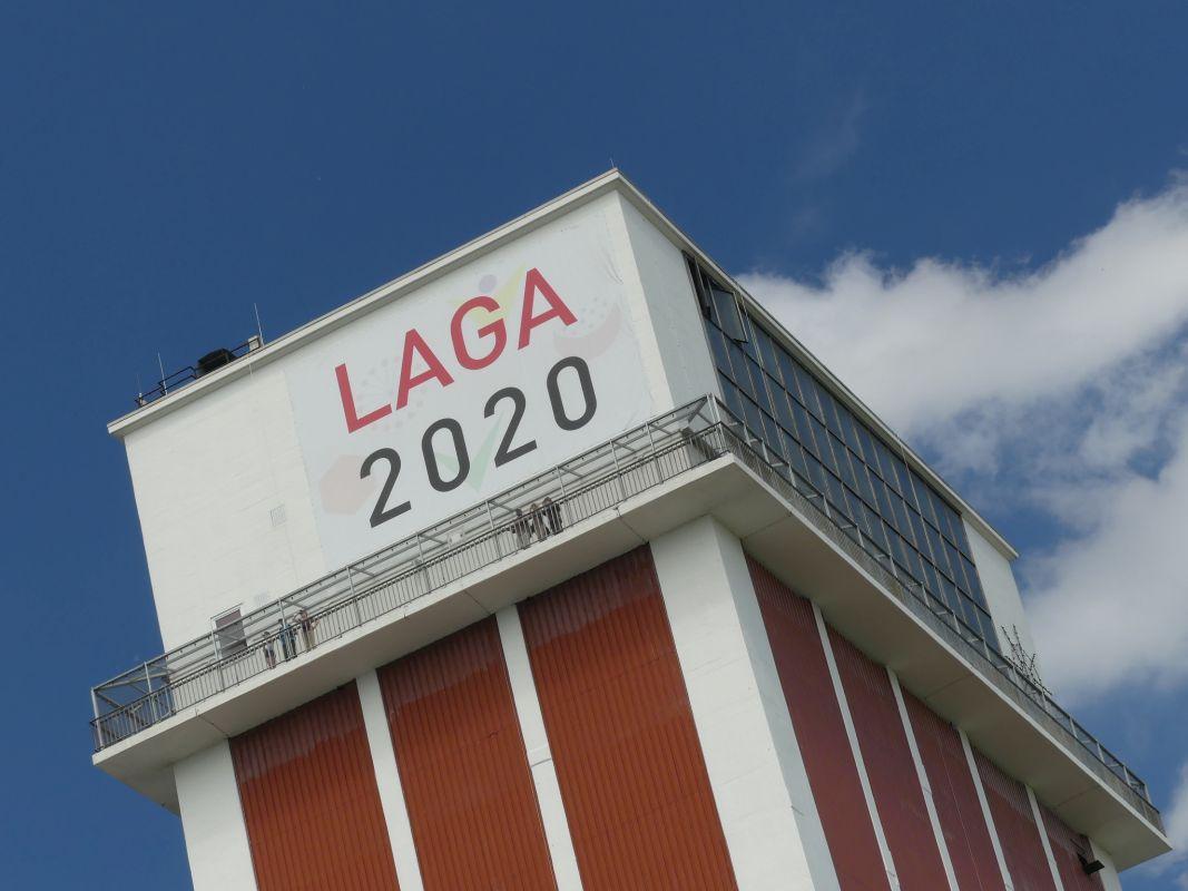 LAGA 2020 - Turmbeschriftung