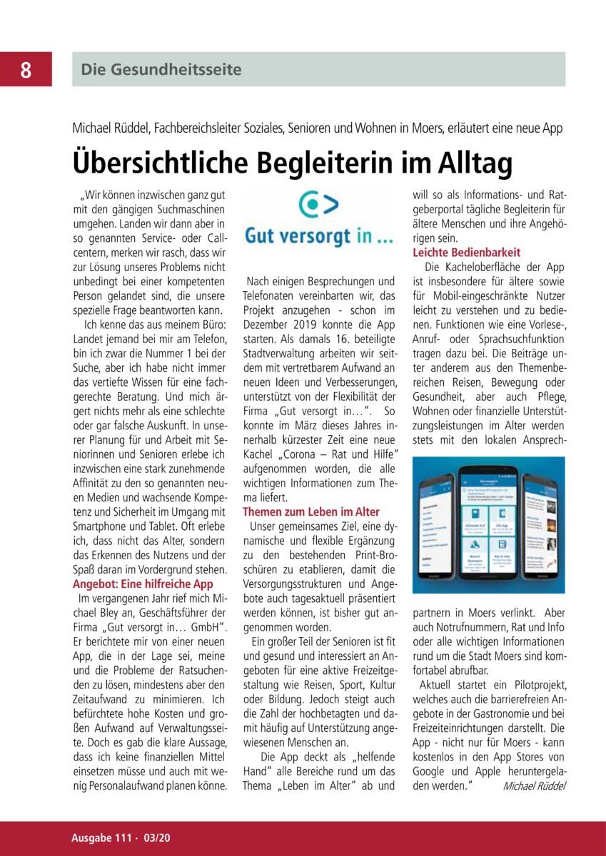 """Nun reden wir, Artikel aus """"Nun reden wir"""" Zeitung der LSV-NRW"""