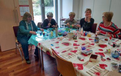 Frei Plätze in der Lohmarer Kreativwerkstatt Basteln für Weihnachten in der Villa Friedlinde