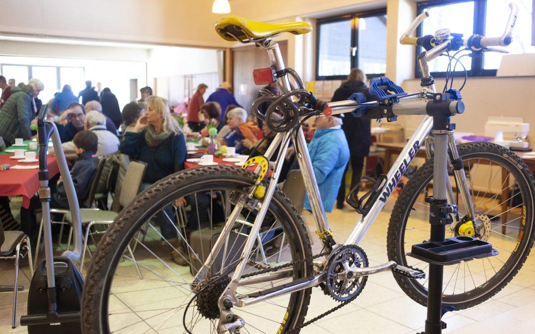 Fahrradcheck im Repair Cafe Lohmar