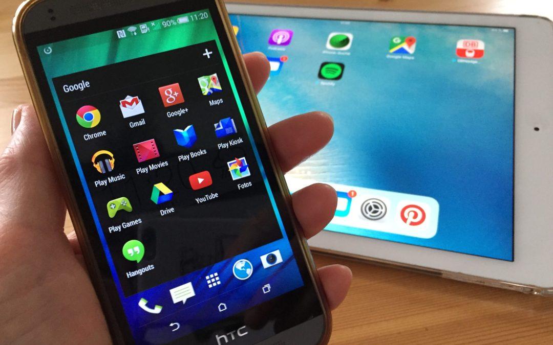 Fragen zu Handy oder Tablet?