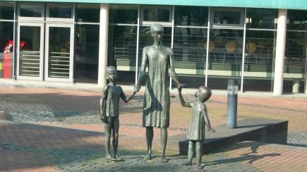 Frau mit Kinder