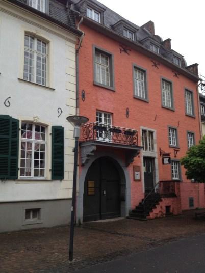 Alte Häuser in Bergheim