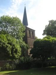 Kirche in Auenheim von Rolf Kremer