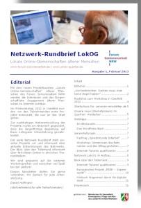covernetzwerk rundbrief ausgabe 1-2013