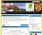 Screenshot der Website Quartier-Waldacker
