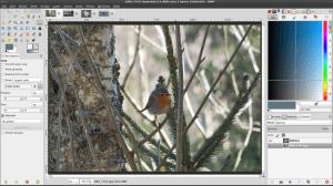 Screenshot GIMP 2.8
