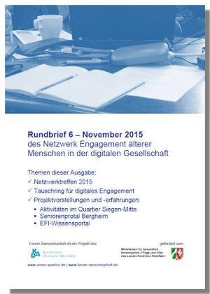 Cover/Titelblatt des 6. Rundrbeifs