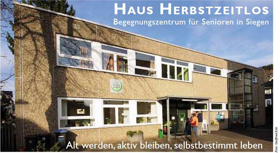 Eine eigene Website für das Haus Herbstzeitlos in Siegen im Quartiers-Netzwerk NRW