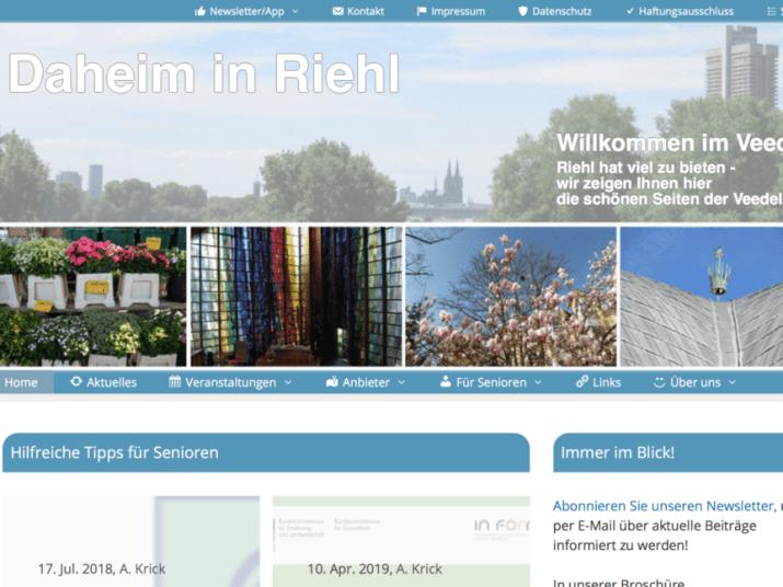 Quartiers-Webseite Riehl