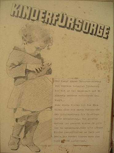 Kinderfürsorge im 2. Weltkrieg