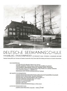 Horst Heckmann wollte gerne Seemann werden