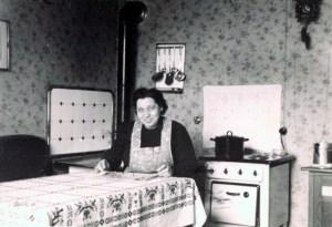 Emma Heckmann, die Mutter von Horst, 1950