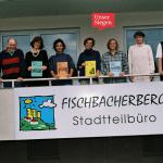 Das Team der Stadtteilzeitung Fischbacherberg Aktiv, aufgenommen 1997. Mit freundlicher Genehmigung vom Stadtteilbüro Fischbacherberg in Siegen.