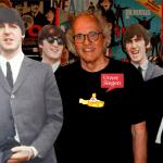 Harold Krämer hat in Siegen auf 27 Quadratmetern das kleinste Beatles-Museum der Welt geschaffen und steht damit sogar im Guinnessbuch der Rekorde. Foto mit Pappfiguren der Beatles. Mit freundlicher Genehmigung von Wolfgang Thomas.