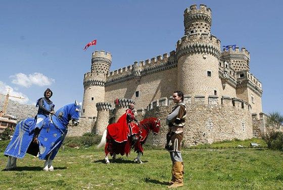 Fin de semana Medieval- Manzares-El-Real